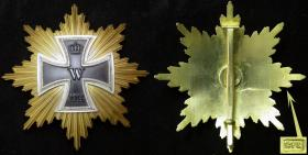 Звезда Большого креста Железного креста. («Звезда Гинденбурга»). Реплика.