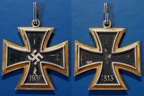Большой крест Железного креста 1939 года. Изготовлен в венской мастерской Р.Сувала в сороковых годах прошлого века, неофициальным порядком
