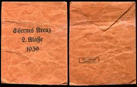 Конверт от Железного креста 2-й степени