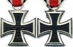 Железный крест 2-й степени образца 1939 года денацифицированной версии образца 1957 года