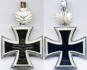 Рыцарский крест Железного креста с дубовыми листьями денацифицированной версии образца 1957 года