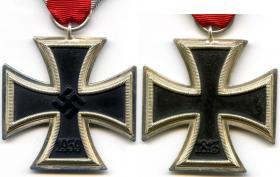 Железный крест 2-й степени образца 1939 года