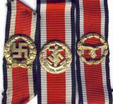 Почётная наградная пряжка для сухопутных войск, Кригсмарине и Люфтваффе