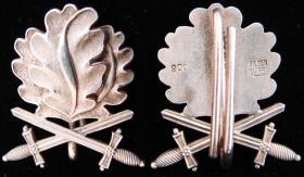 Дубовые листья с мечами к Рыцарскому кресту Железного креста