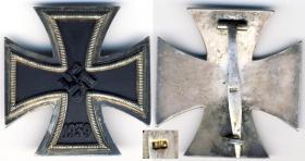 Железный крест 1-й степени образца 1939 года на заколке