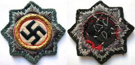 Шитый вариант Германского креста в Золоте