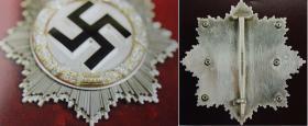 Германский крест в Золоте с Бриллиантами (частная коллекция)