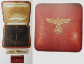 Футляр от Германского креста в Золоте с Бриллиантами (частная коллекция)