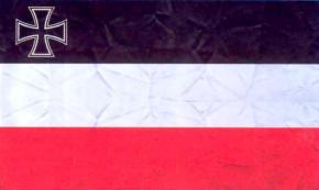 Торговый флаг с Железным крестом (1933-1935)