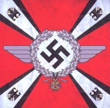 Штандарт Рейхсминистра воздушного флота 1933-1935 гг. (левая сторона)