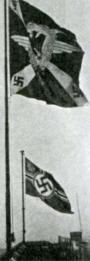 Командный флаг рейхсминистра авиации и имперский флаг