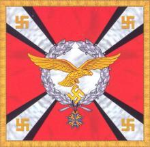 Штандарт Рейхсминистра Люфтваффе и Верховного главнокомандующего Люфтваффе 1935-1938 гг (правая сторона)