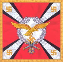 Штандарт Рейхсминистра Люфтваффе и Верховного главнокомандующего Люфтваффе 1938-1940 гг (правая сторона)