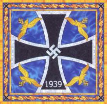 Штандарт Рейсмаршала 1940-1941 (правая сторона)