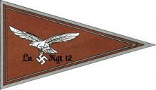 Флаг командира полка связи Люфтваффе (отменён 13 июля 1940 г.)