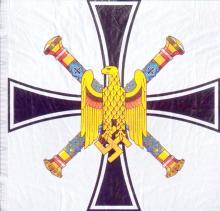Обычный вариант флага гросс-адмирала