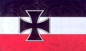 Кормовой флаг и гюйс ВМФ 1933-1935 год