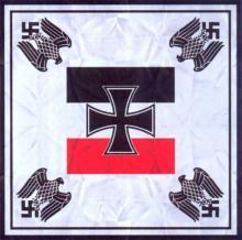 Служебный флаг военного Рейхсминистра и начальника штаба (06.1935-10.1935)