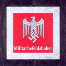 Армейское командование (флаг для оккупированных территорий 1940-45)
