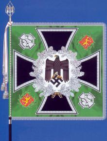 Знамя 3-го батальона 92-го пехотного полка Вермахта (3-й Финский егерский батальон)