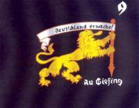 Предшественник штандартов - флаг 9-го хундершафта (сотни) SA из Ау Гизинг (пригород Мюнхена)