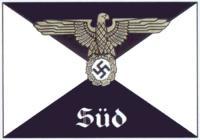 Штаб оберабшнита (в данном случае — оберабшнита СС «Юг»)
