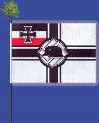 Флаг орстгруппы союза фронтовиков «Стальной шлем» (использовался с 1934 до 1935 года)