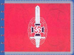Флаг национал-социалистической организации жертв войны NSKOV (образец 1934 года)