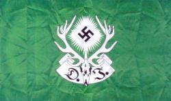 Флаг Имперского союза немецких охотников и егерей