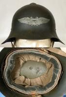 "эмблема Люфтшуц на советском стальном шлем СШ-39 (""Ханкинголка"")"