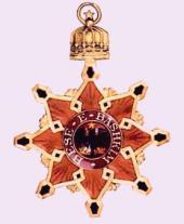 Командирский нашейный знак ордена Чёрного орла