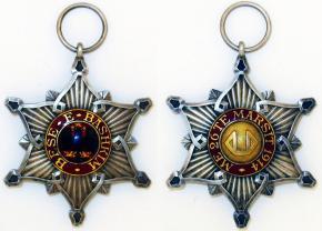 Рыцарский нагрудный знак ордена Чёрного орла