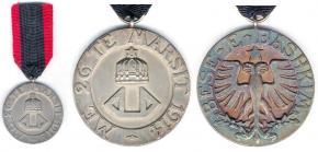 Медаль Чёрного орла второго класса в серебре