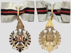 Шейный знак 1 степени ордена Беса образца 1939-1944 гг