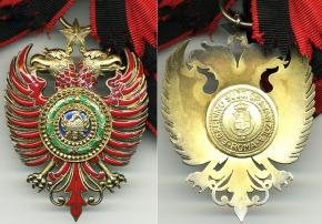 Знак ордена Скандерберга королевства Албании