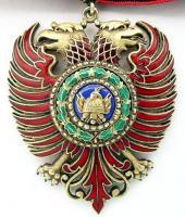 Рыцарский знак ордена Скандерберга королевства Албании (4 степень)