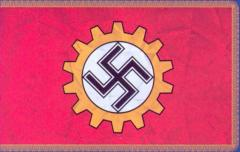 Фабричный флаг DAF для образцовых предприятий