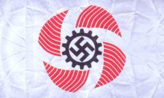 Флаг организации трудового фронта «Сила через радость» (KdF)
