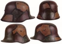 Камуфляжная окраска на шлемах Первой мировой войны