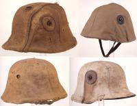 Камуфляжные чехлы на касках Первой мировой войны