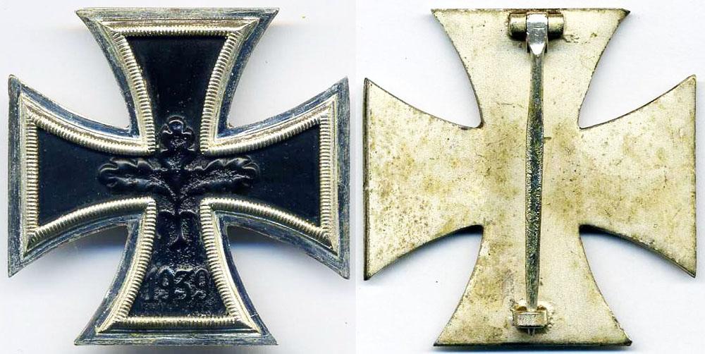 Сколько стоит немецкий крест білонна монета